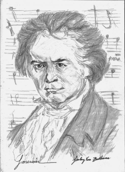 Ludwig van Beethoven by YMERCIER